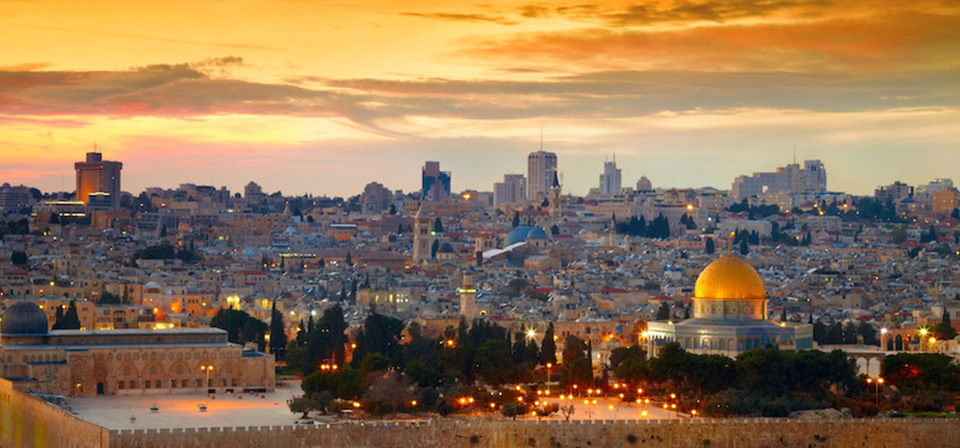 Panorama-of-Jerusalem-old-city-Israel